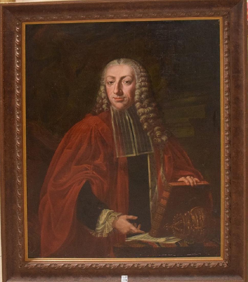 Giuseppe Bonito (Italian 1705 - 1789) oil on canvas,