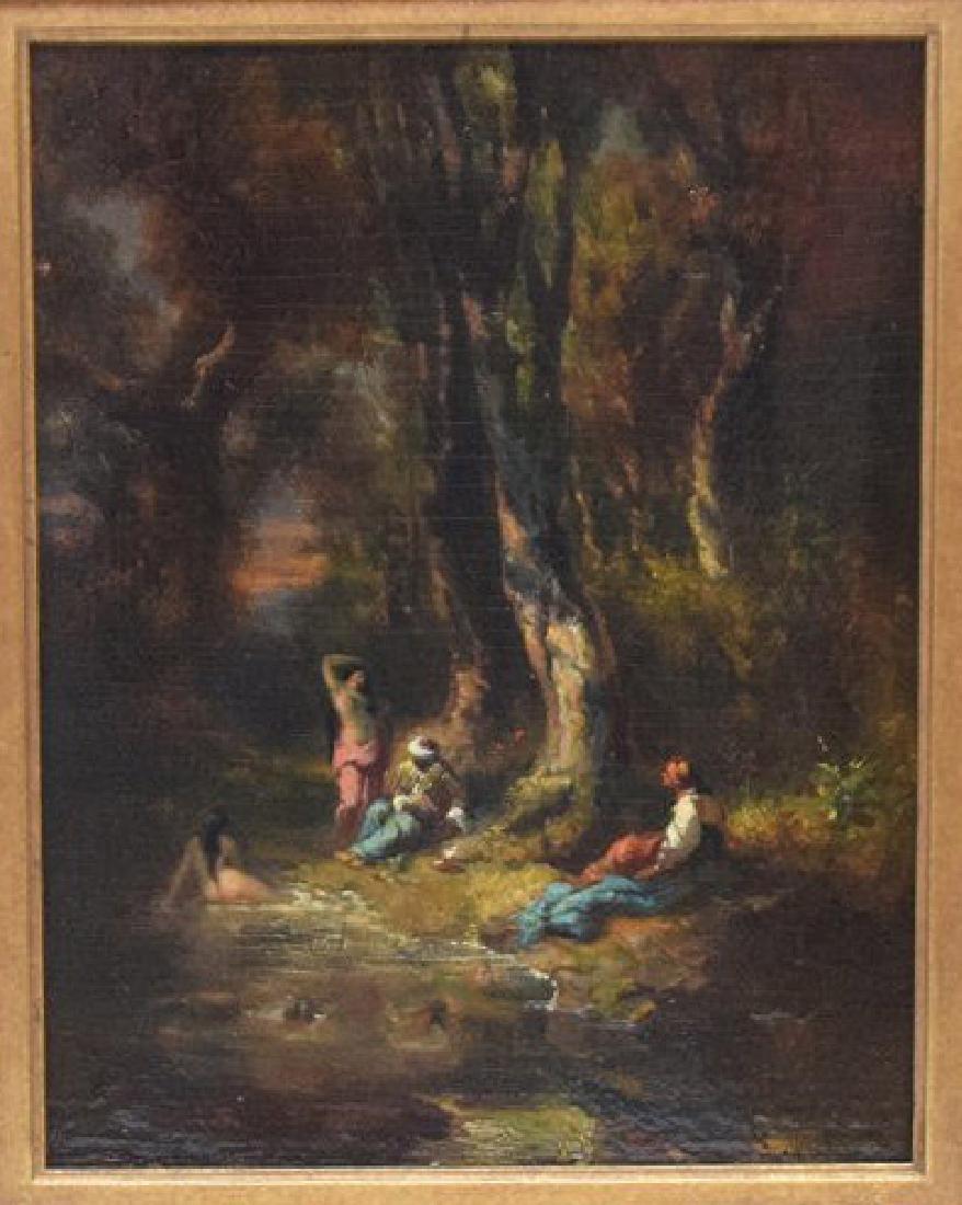 Alexandre Marie Longuet  (France 1805 - 1851)  oil on
