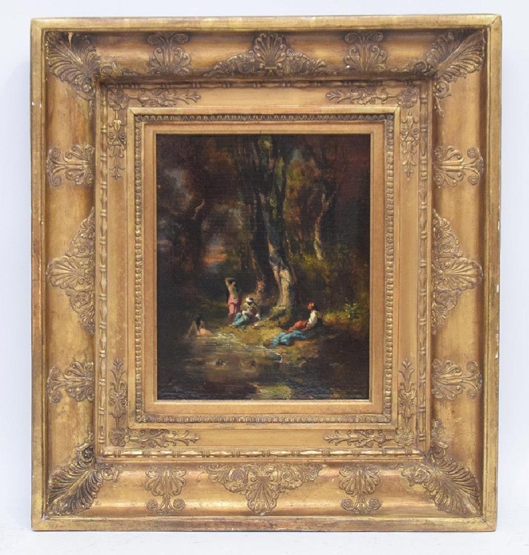 Alexandre Marie Longuet  (France 1805 - 1851)  oil on - 2