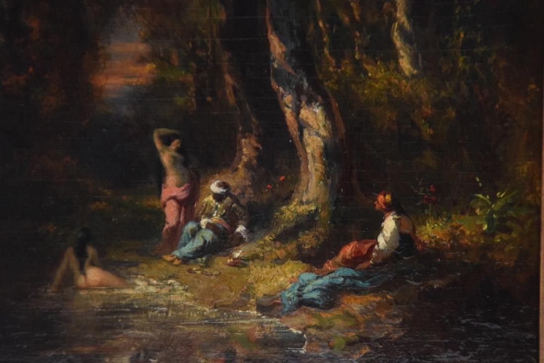Alexandre Marie Longuet  (France 1805 - 1851)  oil on - 3