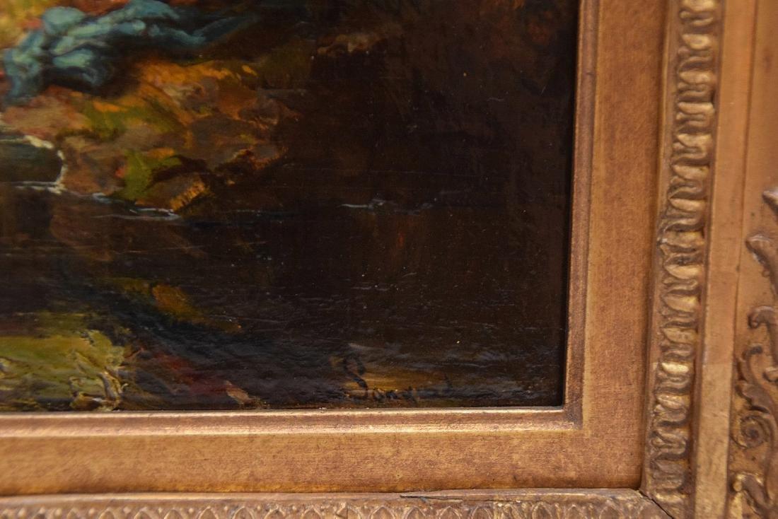 Alexandre Marie Longuet  (France 1805 - 1851)  oil on - 4