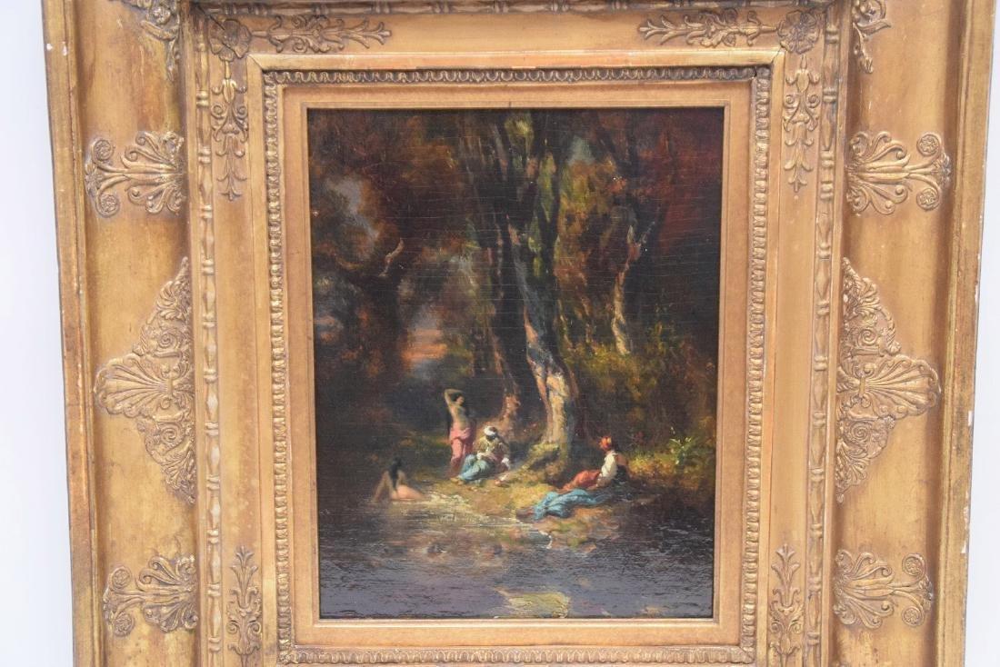 Alexandre Marie Longuet  (France 1805 - 1851)  oil on - 5