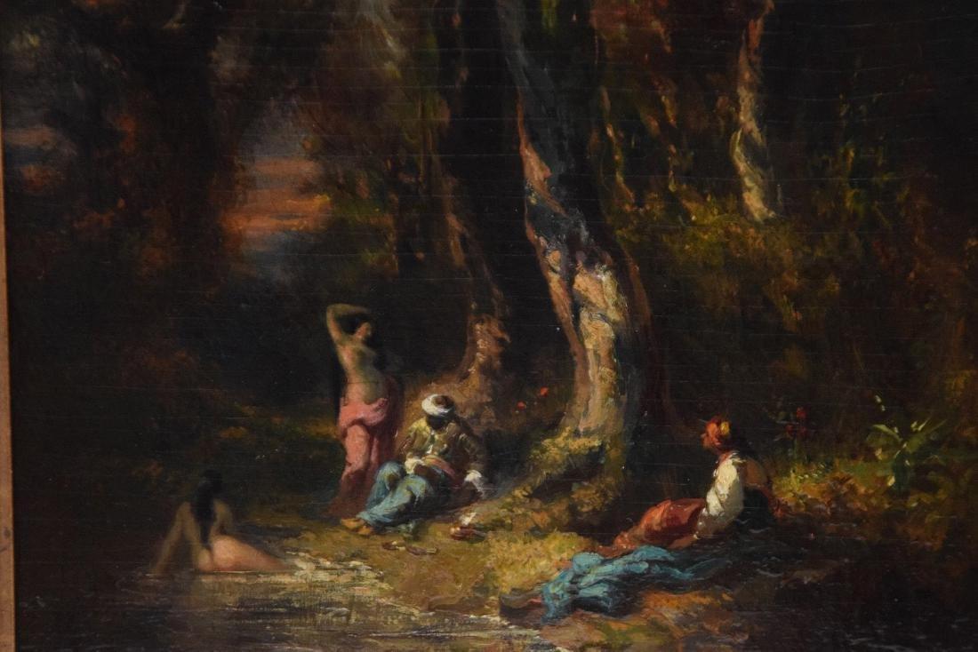 Alexandre Marie Longuet  (France 1805 - 1851)  oil on - 6
