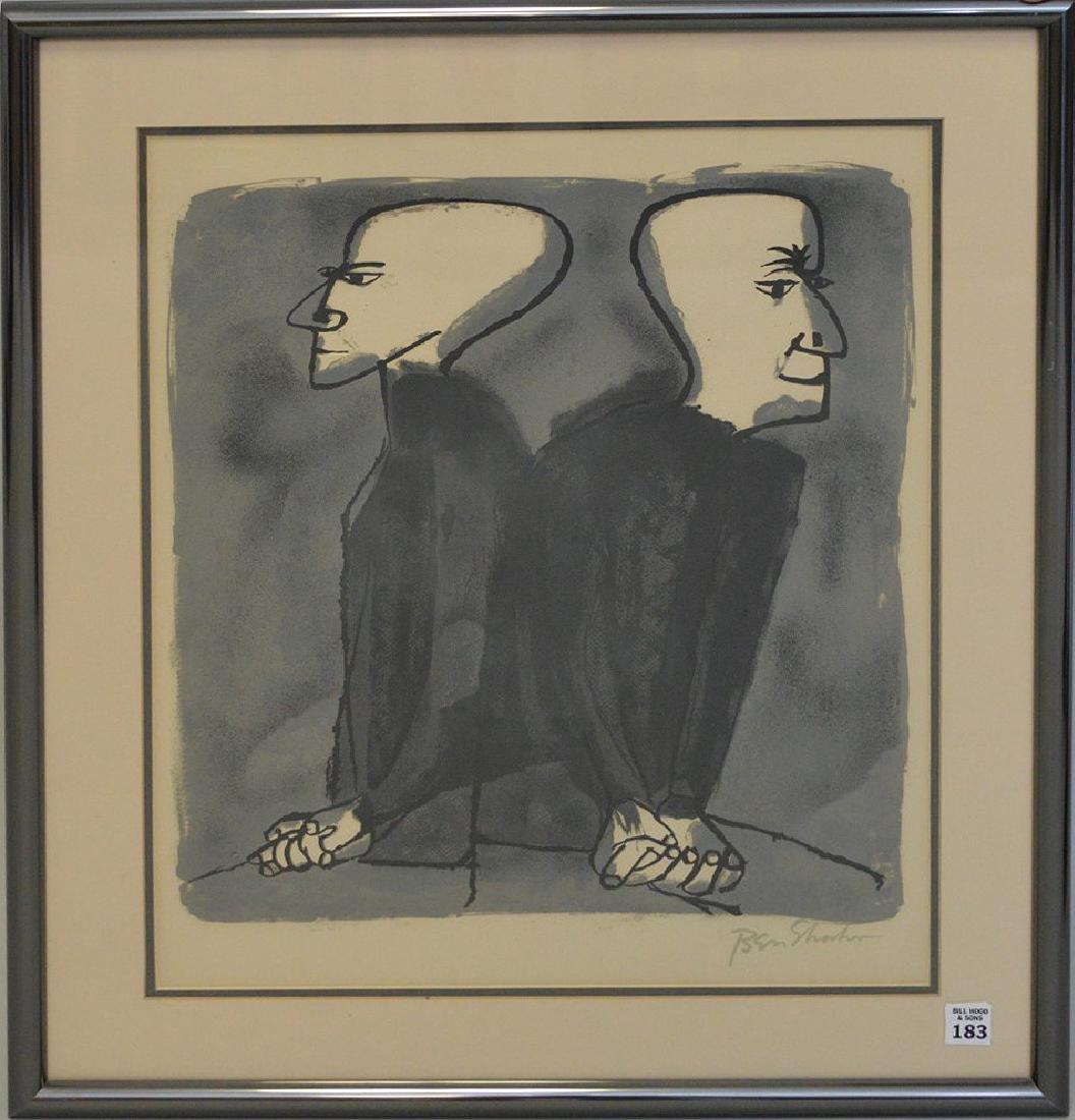 Ben Shahn (American 1898-1969) Lithograph, Site Size:
