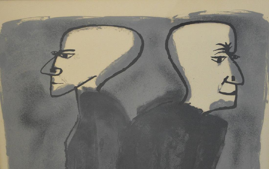 Ben Shahn (American 1898-1969) Lithograph, Site Size: - 2