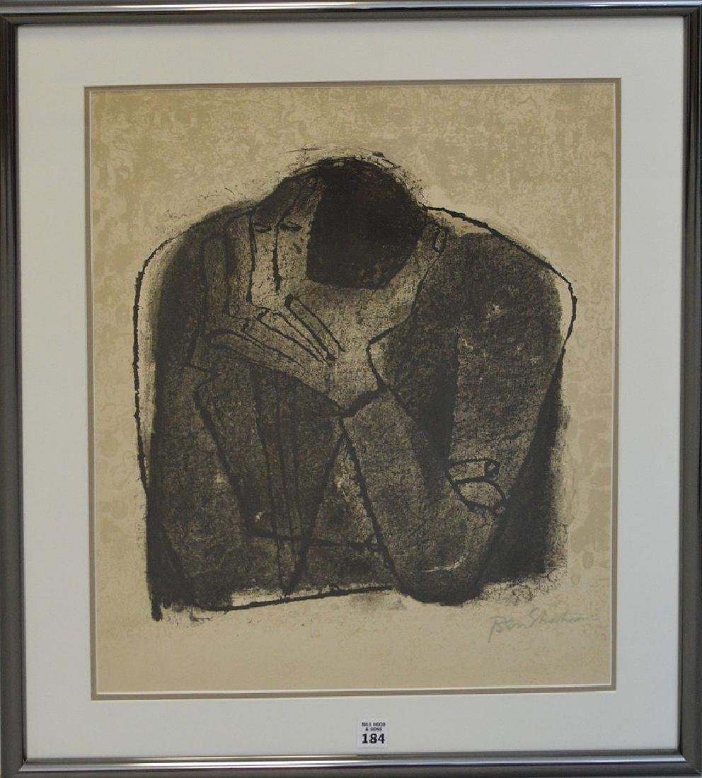 Ben Shahn (American 1898-1969) Lithograph, Site Size: