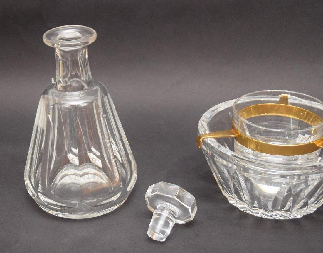 TWO BACCARAT ARTICLES.  1 DECANTER. Condition: good - 2