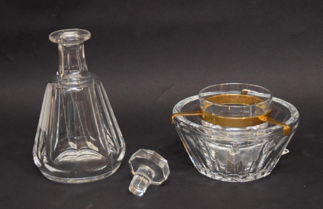 TWO BACCARAT ARTICLES.  1 DECANTER. Condition: good - 4