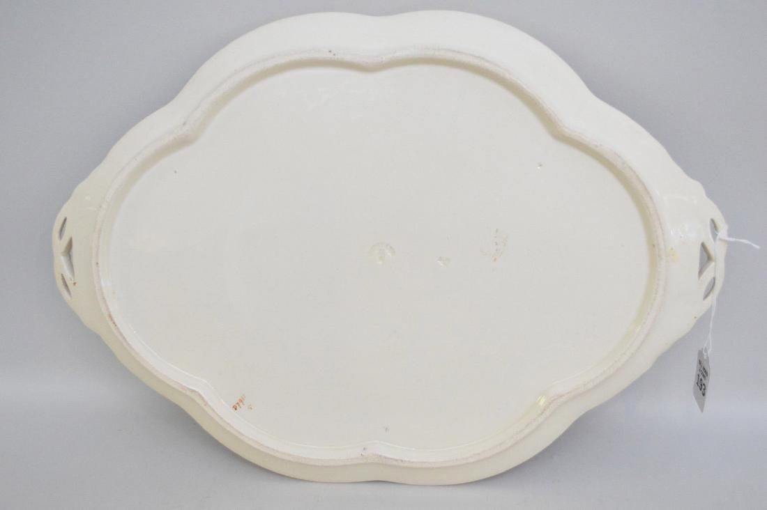 Copland Imari Porcelain Platter.  Condition: good for - 3