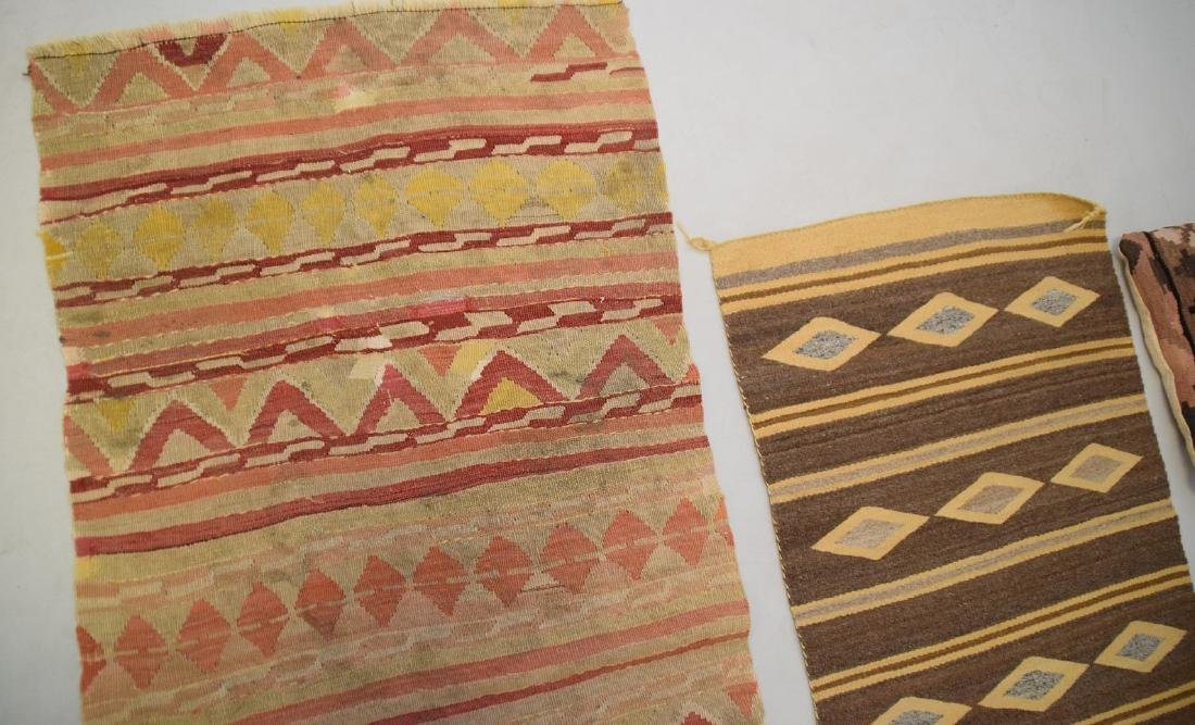 2 Flat weave Rugs sold with 2 kilim pillows - 4
