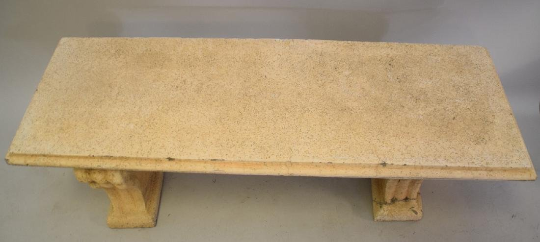 Cement Bench - 2