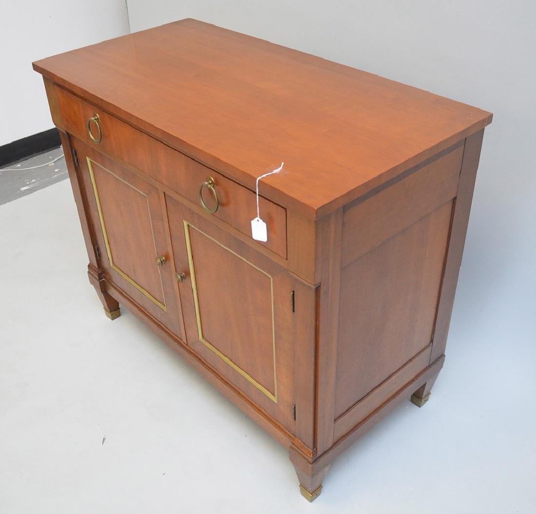 KINDEL MAHOGANY SERVER WITH ONE DRAWER OVER TWO DRAWERS - 6