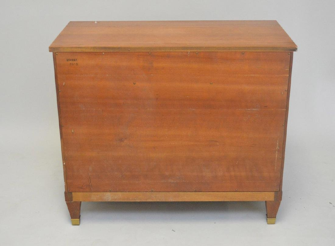 KINDEL MAHOGANY SERVER WITH ONE DRAWER OVER TWO DRAWERS - 8