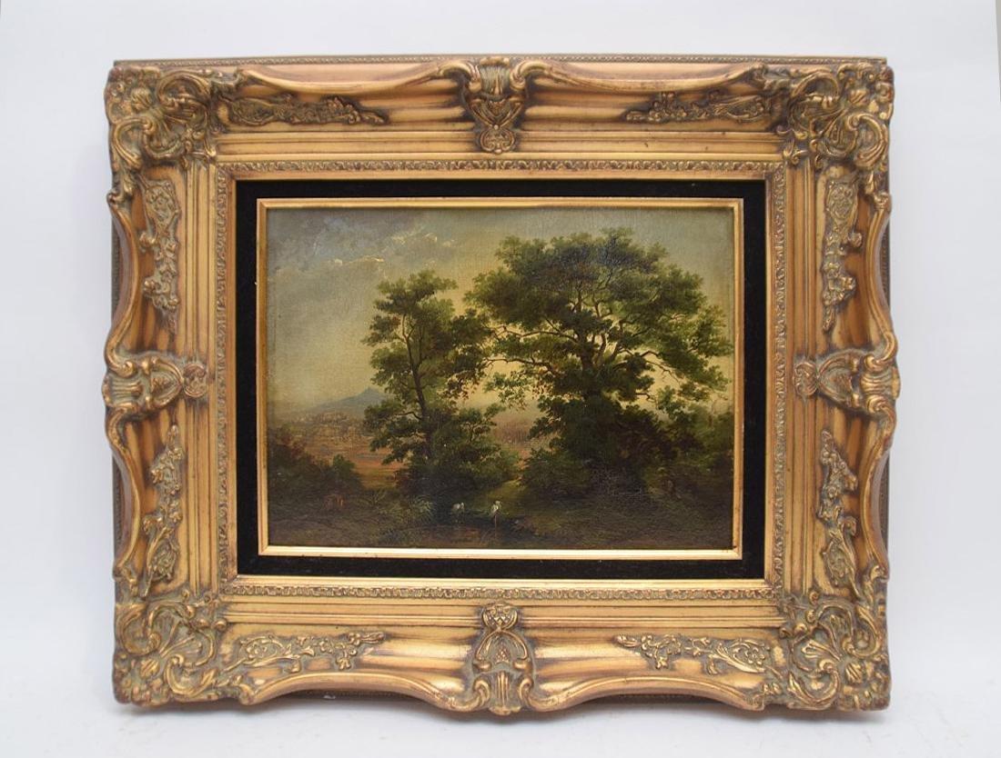 "M. HOBBEMA, Dutch 1638-1709, ""Landscape, Early"