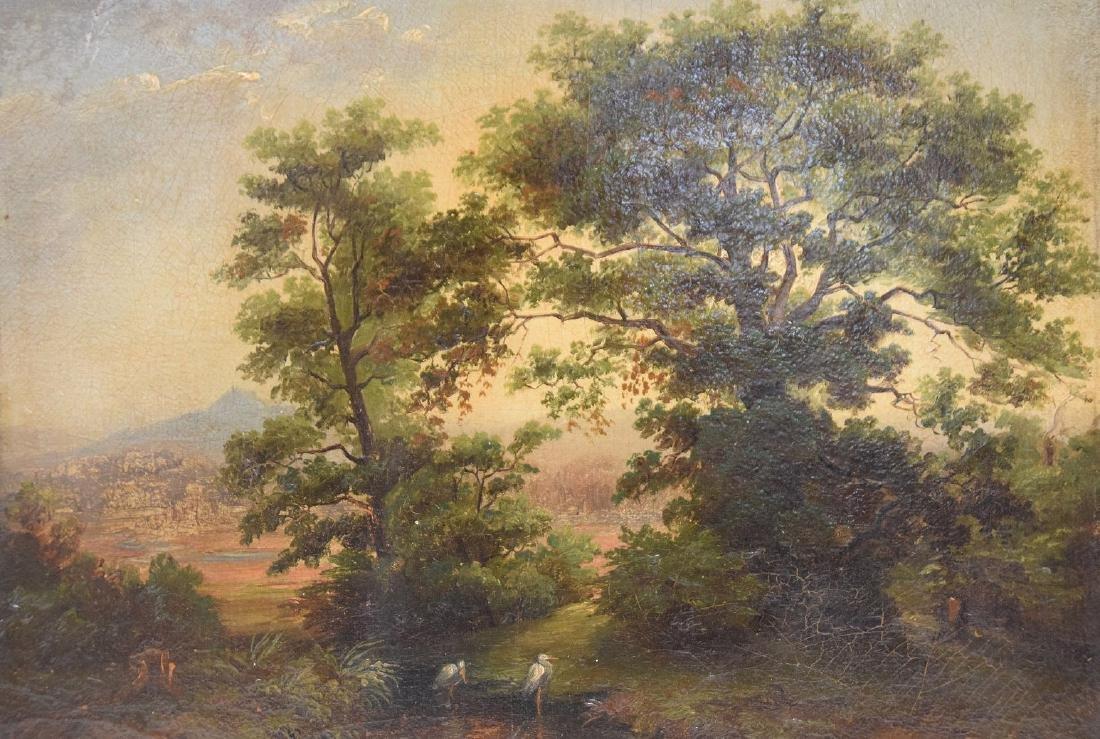 "M. HOBBEMA, Dutch 1638-1709, ""Landscape, Early - 2"