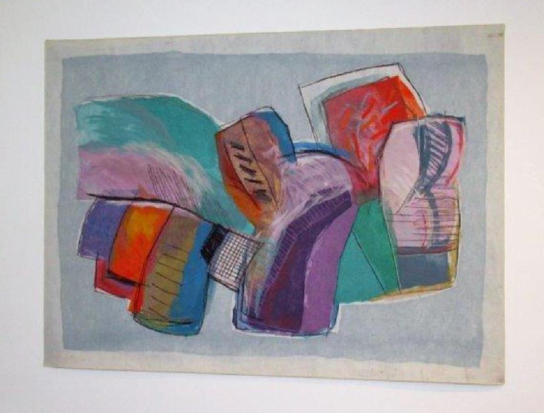 Calman Shemi, Argentina born 1939, Soft Painting