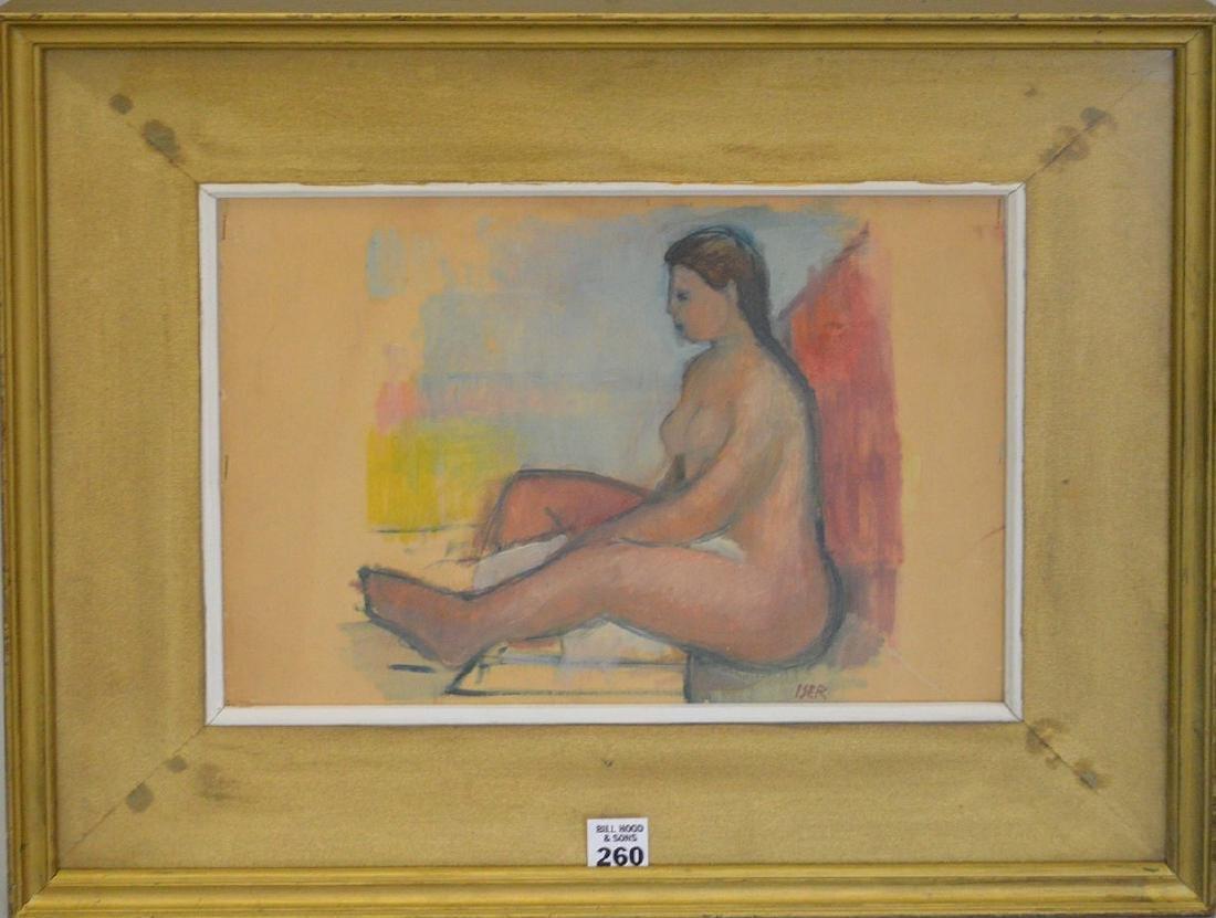 Losif Iser (attrib.)  (Romanian 1881-1958), female