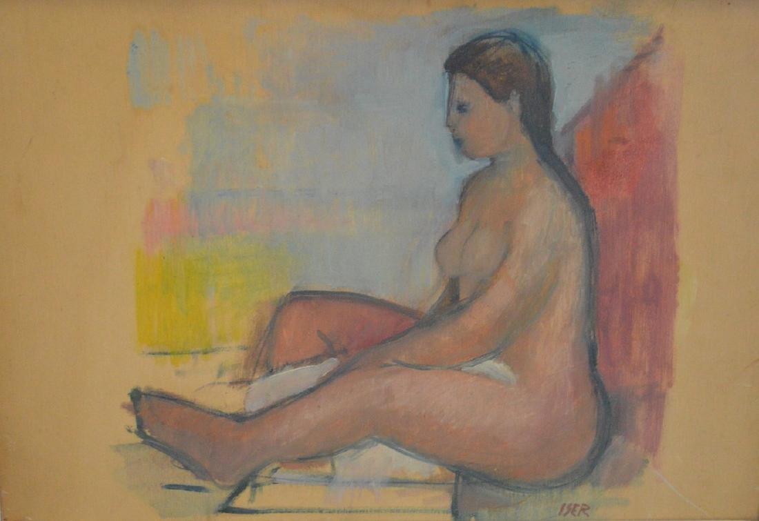 Losif Iser (attrib.)  (Romanian 1881-1958), female - 2