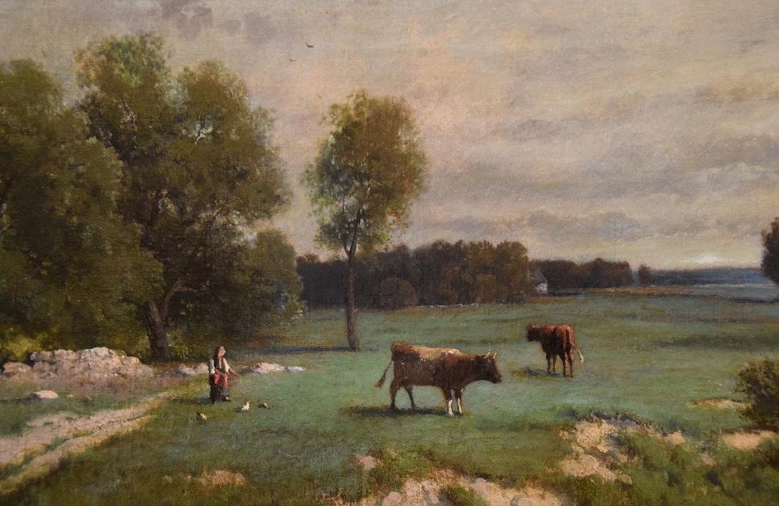 Clinton Loveridge American oil Pastoral Landscape - 2
