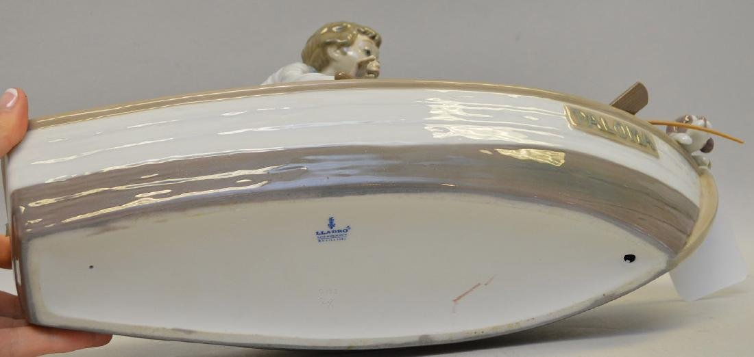 Lladro Spain Porcelain Sculptures #5215, with wooden - 6