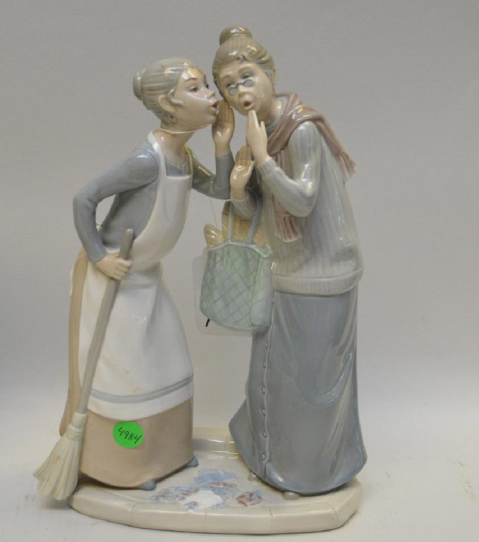 Lot of THREE Lladro Spain Porcelain Sculptures: (1) - 2