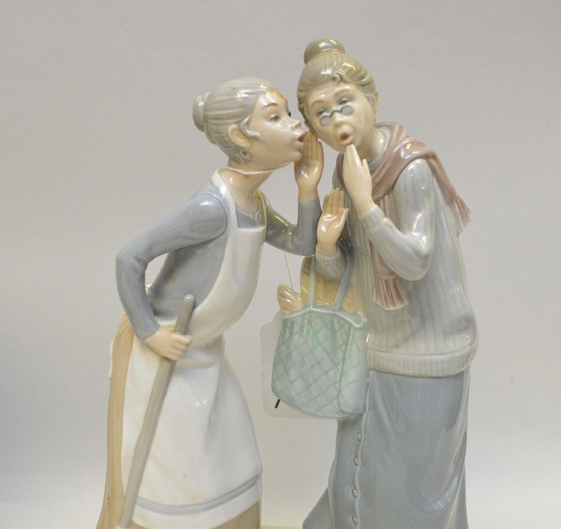 Lot of THREE Lladro Spain Porcelain Sculptures: (1) - 6