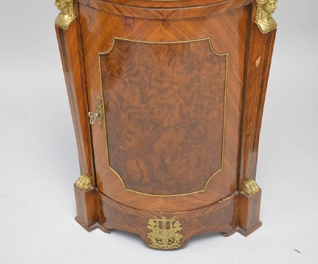 Pair of French Empire-Style Corner Cabinets - 3