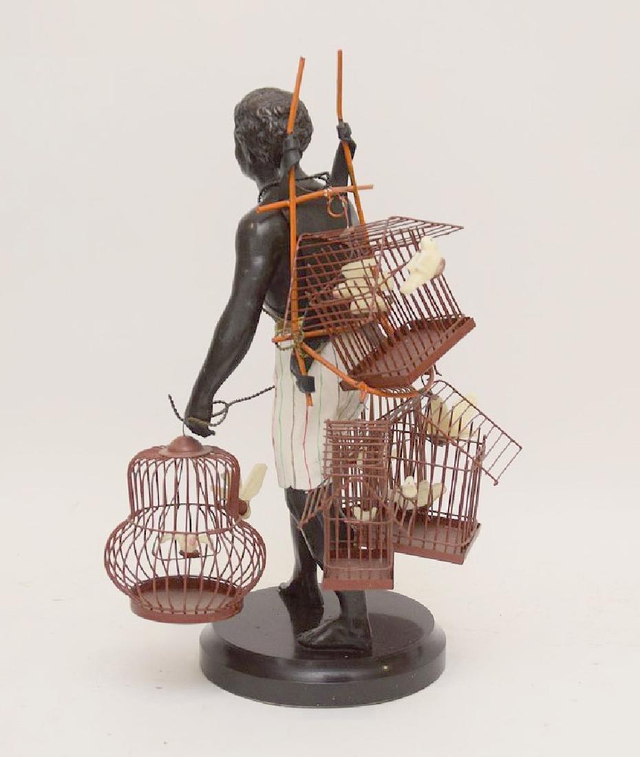 PETITE CHOSES NUBIAN BLACKAMOORE BIRD MAN - 2