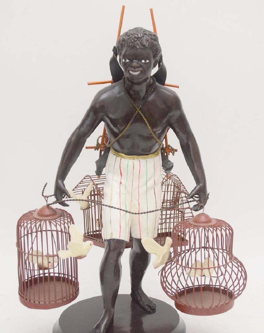PETITE CHOSES NUBIAN BLACKAMOORE BIRD MAN - 4