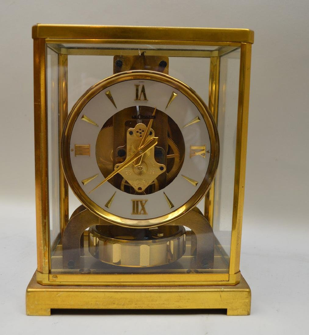 Le Coultre Atmos clock, original box (glass on top is - 2