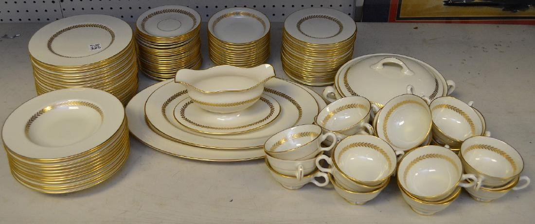 """Lenox china, Imperial, incl; 20 plates (8 1/2""""), 12"""