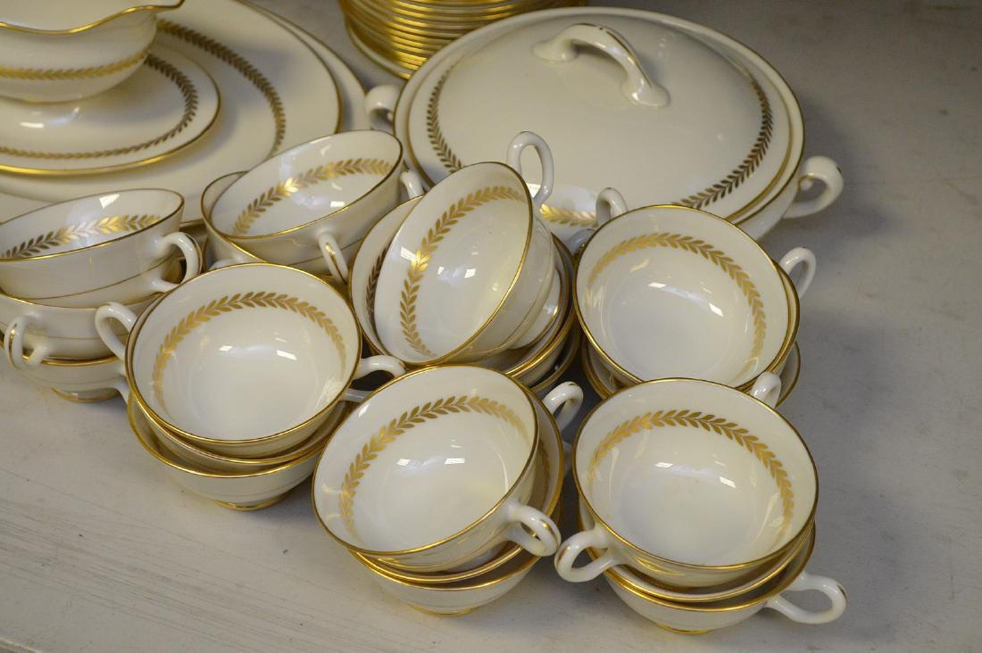 """Lenox china, Imperial, incl; 20 plates (8 1/2""""), 12 - 2"""