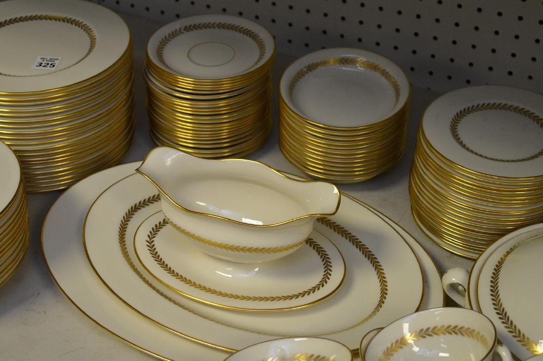 """Lenox china, Imperial, incl; 20 plates (8 1/2""""), 12 - 3"""