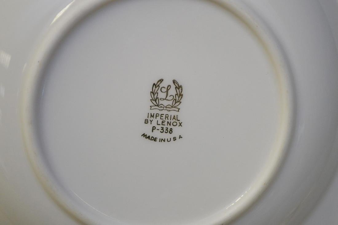 """Lenox china, Imperial, incl; 20 plates (8 1/2""""), 12 - 5"""