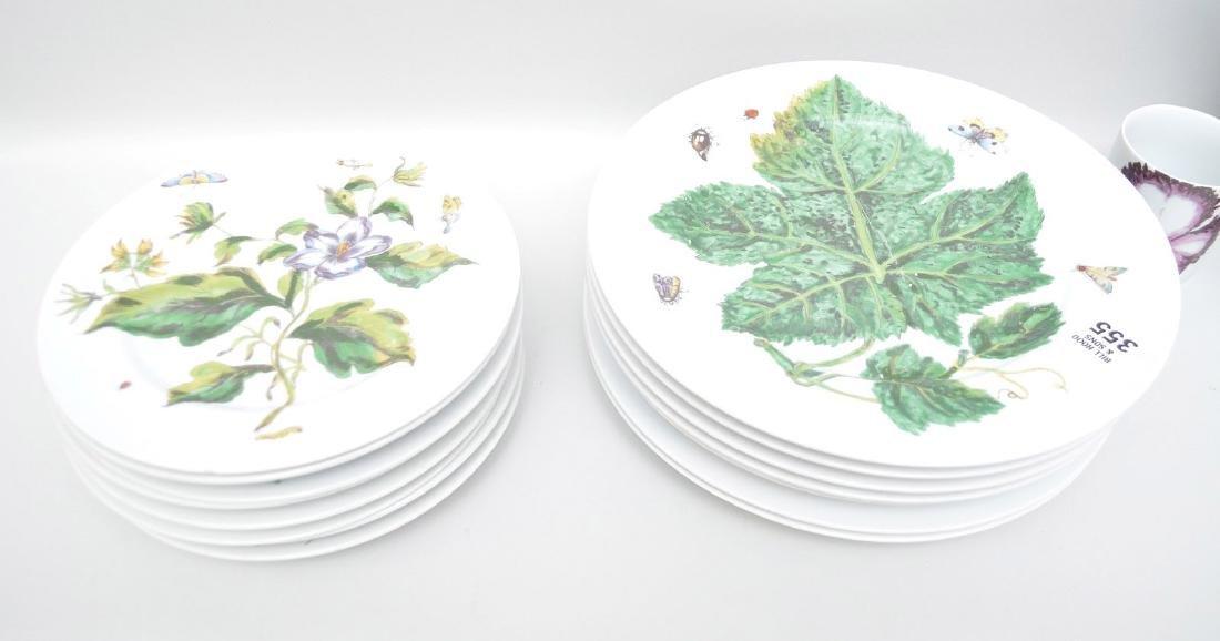 Mottahedah china service, Botanical, 16pcs. - 3