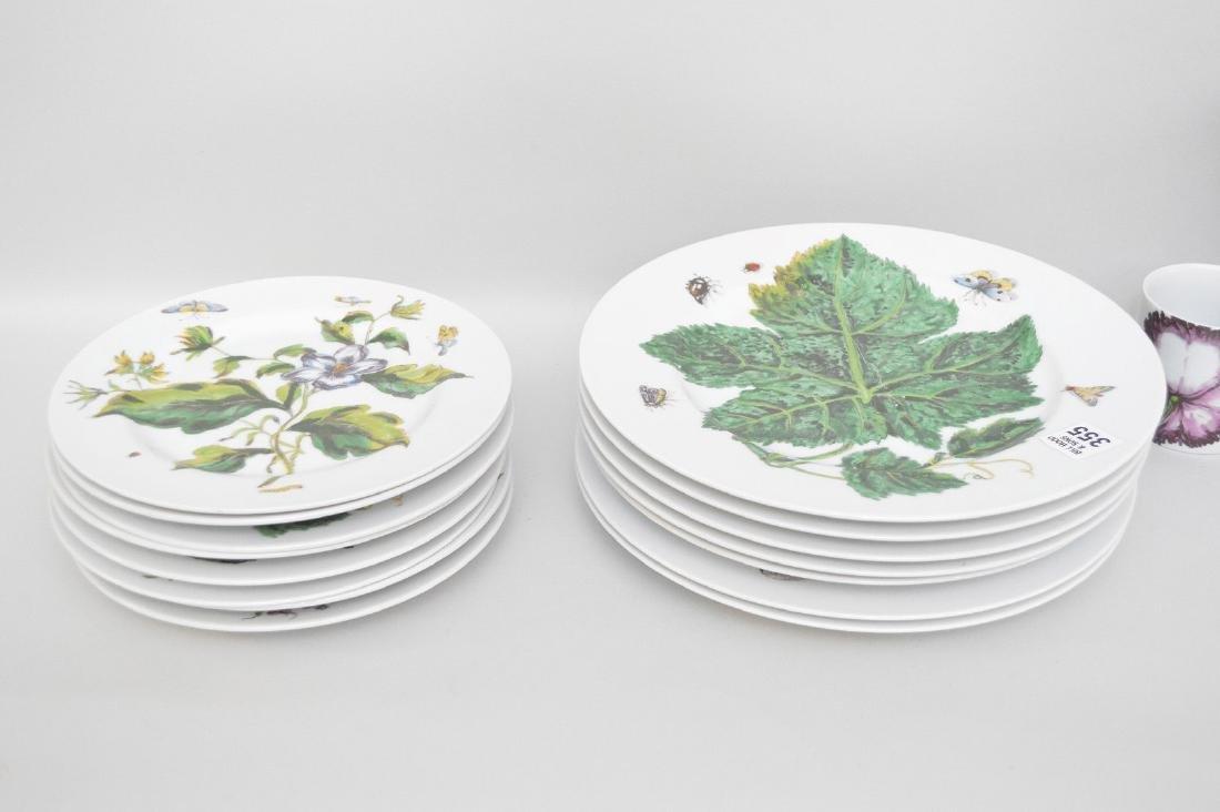 Mottahedah china service, Botanical, 16pcs. - 4