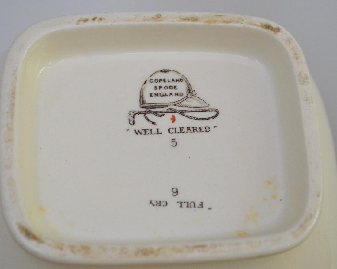 Dinner service, incomplete, Copeland Spode, Hunt - 6