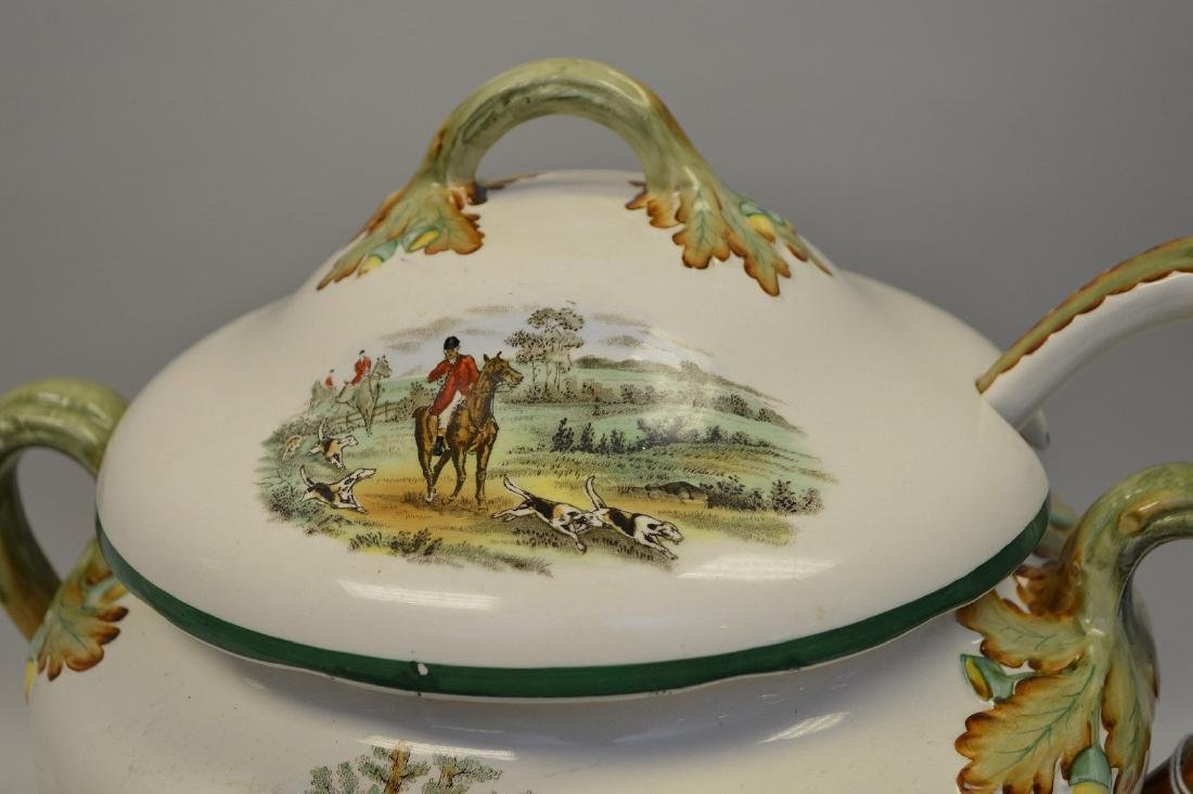 Large Soup Tureen matching above item with liner and - 3