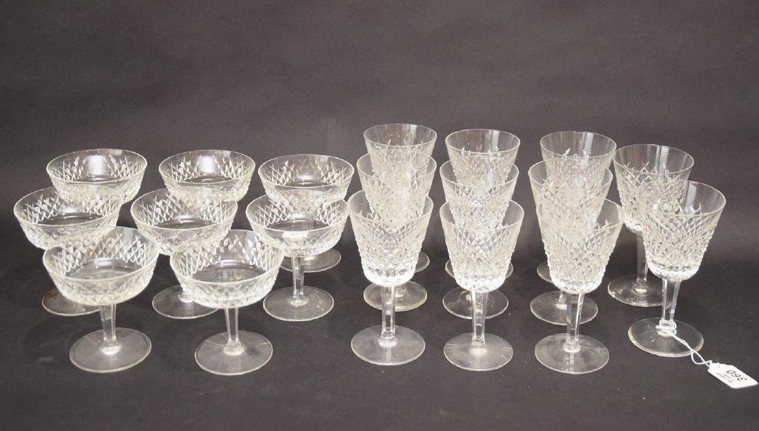 19 pcs. Waterford stemware, 2 assorted sizes - 2