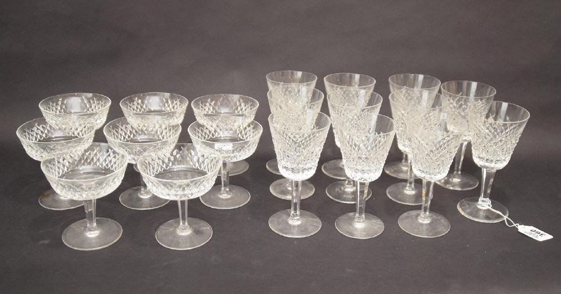19 pcs. Waterford stemware, 2 assorted sizes - 3