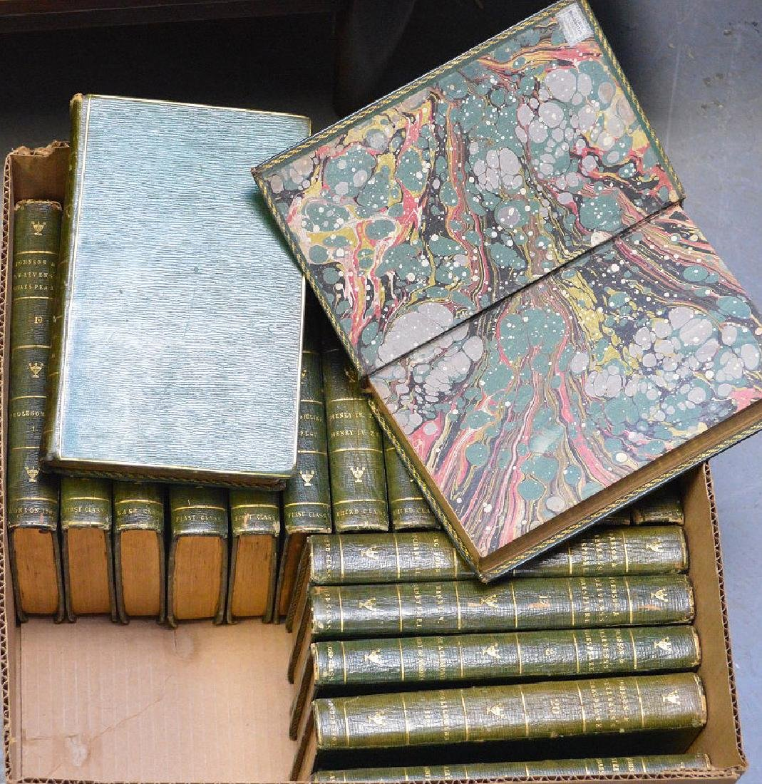 2 sets of books; 34 Volumes of Chateaubriand, 2 Volumes - 7