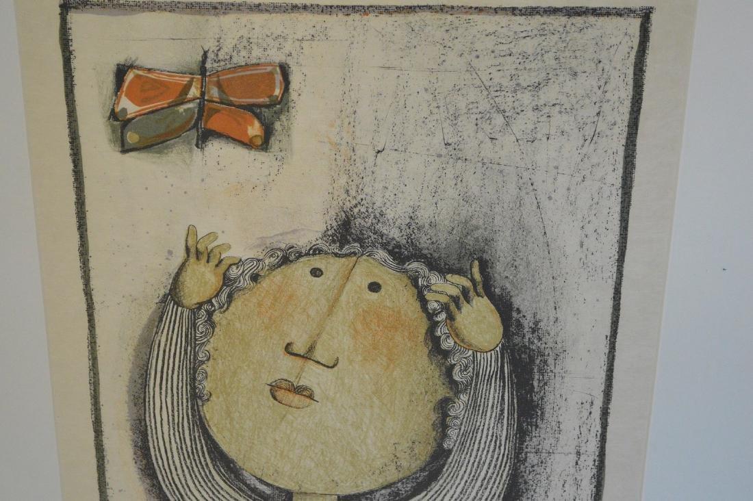 Graciela Rodo Boulanger (born 1935) Lithograph, boy w/ - 3