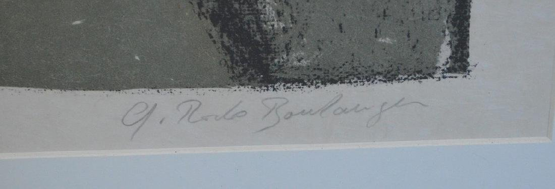 Graciela Rodo Boulanger (born 1935) Lithograph, boy w/ - 4