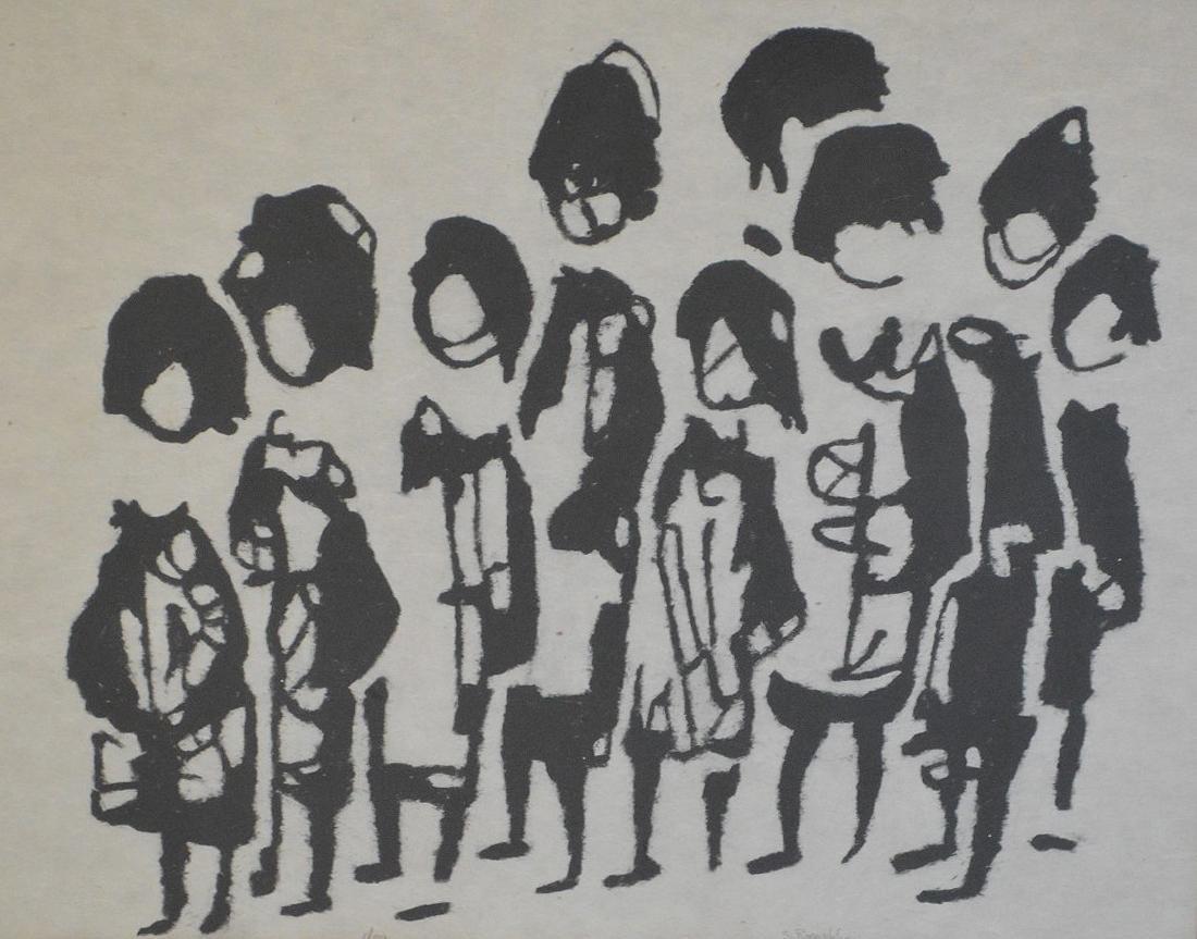 Sadie Skoletsky Rosenblum  (1899 - 1987) oil on paper, - 2