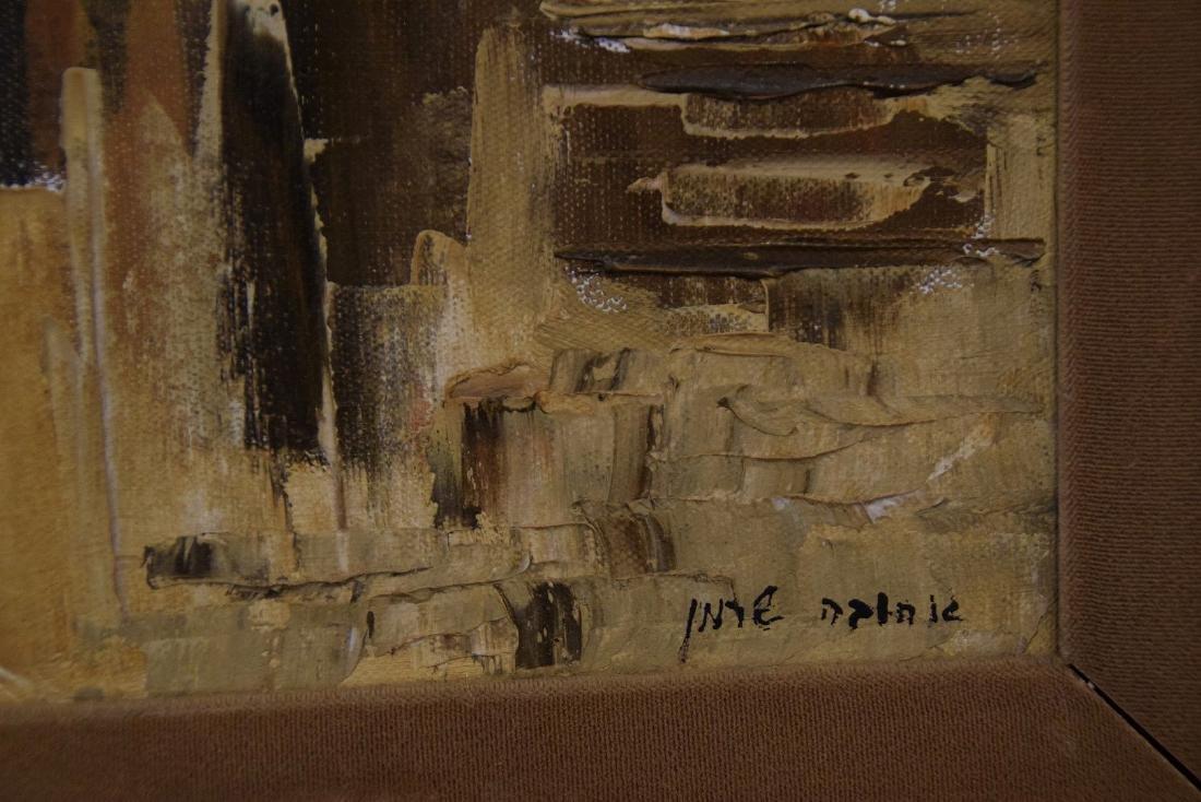 Ahuva Sherman (Israeli b.1923)  oil painting of the - 2