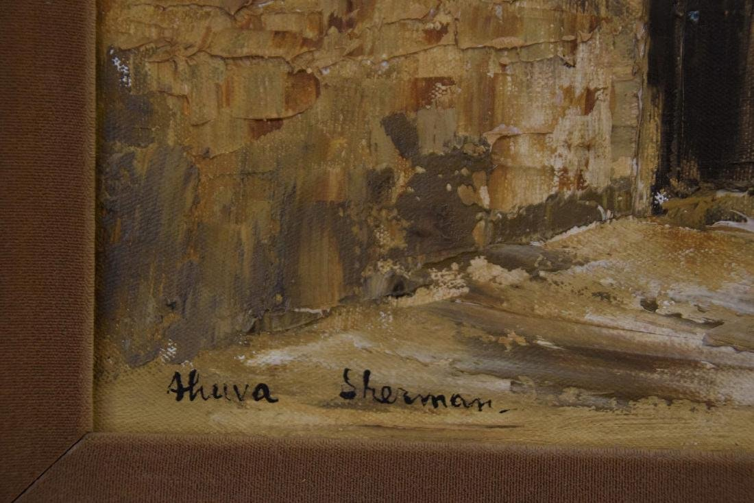 Ahuva Sherman (Israeli b.1923)  oil painting of the - 3