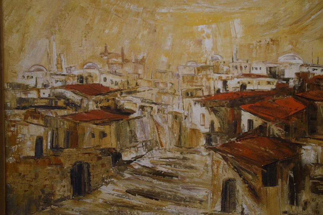 Ahuva Sherman (Israeli b.1923)  oil painting of the - 4