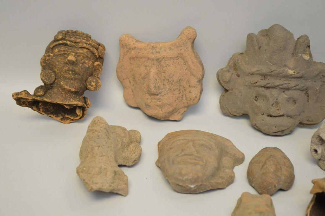 COLLECTION OF 17 PRE-COLUMBIAN EFFIGY ARTIFACTS - Each - 2