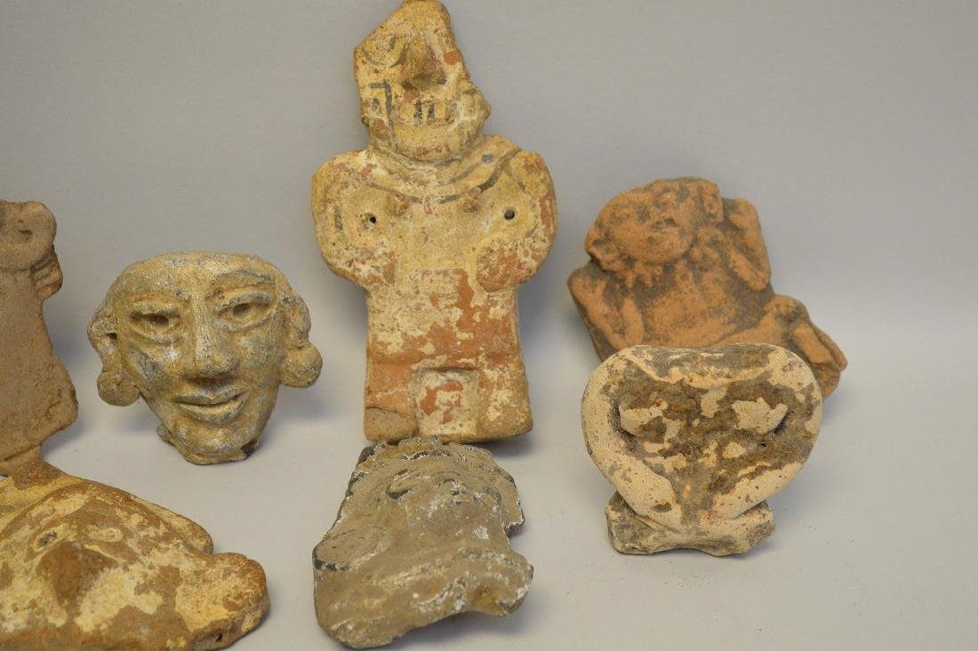 COLLECTION OF 17 PRE-COLUMBIAN EFFIGY ARTIFACTS - Each - 4