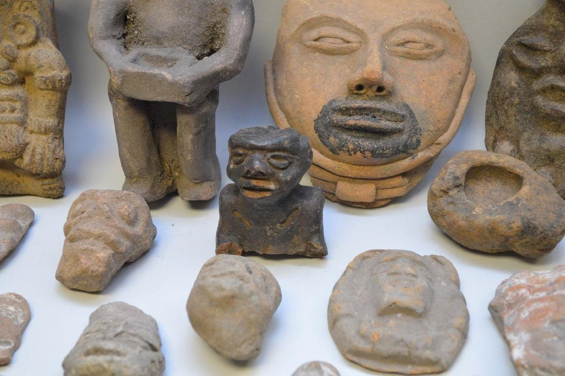 COLLECTION OF 29 PRE-COLUMBIAN EFFIGY ARTIFACTS - Each - 2